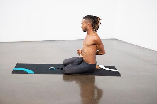 Bharadvaja's Twist (Bharadvajasana) - Yoga Pose