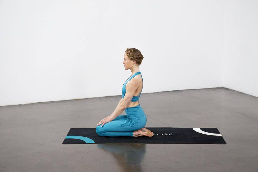 Dove Pose (Vajra Kapotasana) - Yoga Pose