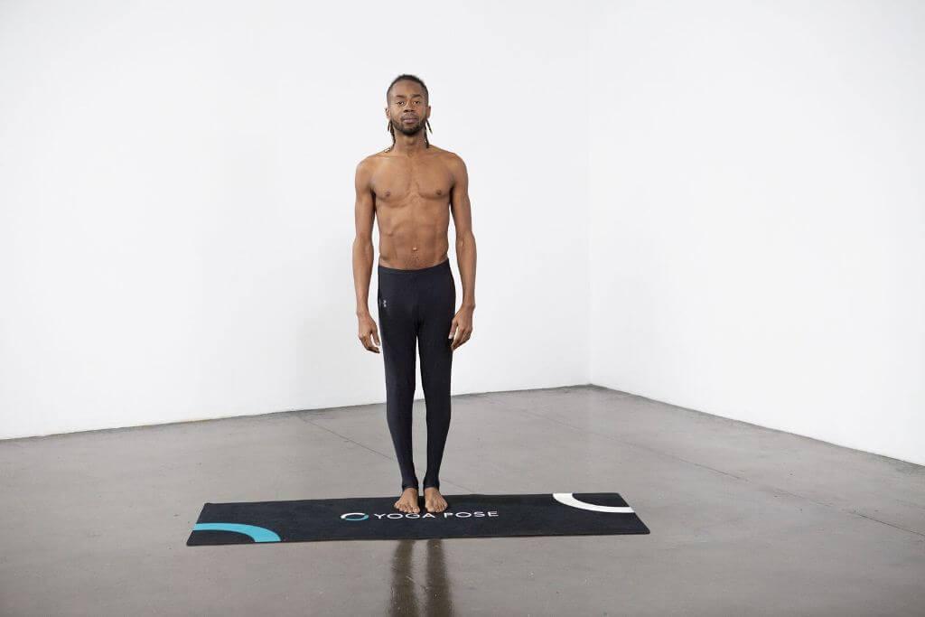 Extended Hand to Big Toe Pose (Utthita Hasta Padangustasana) - Yoga Pose