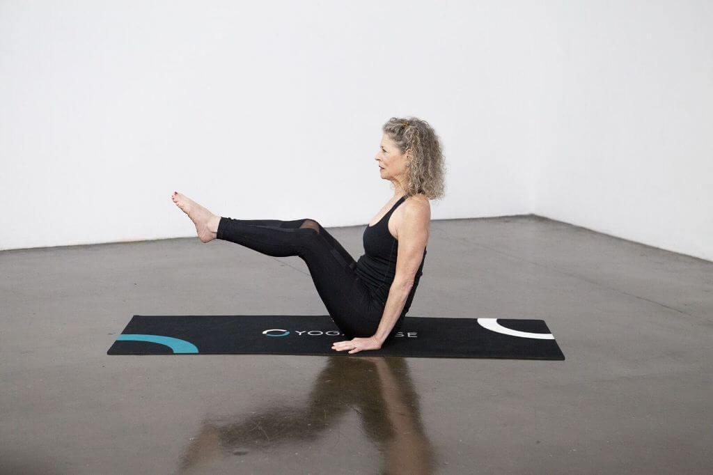 Full Boat Pose (Paripurna Navasana) - Yoga Pose