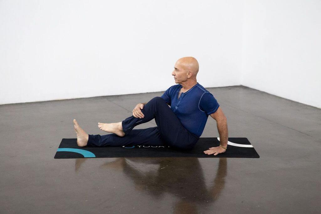 Half Lord of the Fishes Pose (Ardha Matsyendrasana) - Yoga Pose