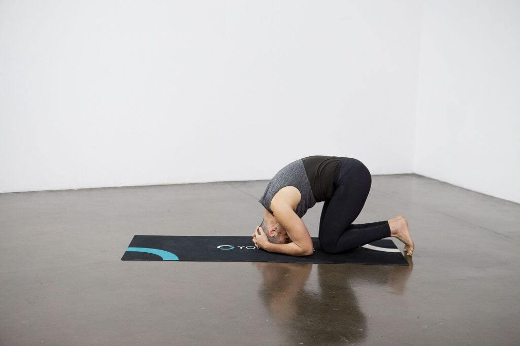 Bound-Angle Headstand Pose (Baddha Kona Sirsasana) - Yoga Pose