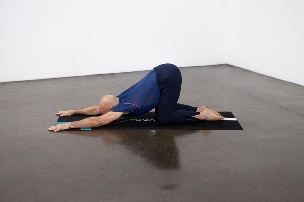 Extended Puppy Pose (Uttana Shishosana) - Yoga Pose