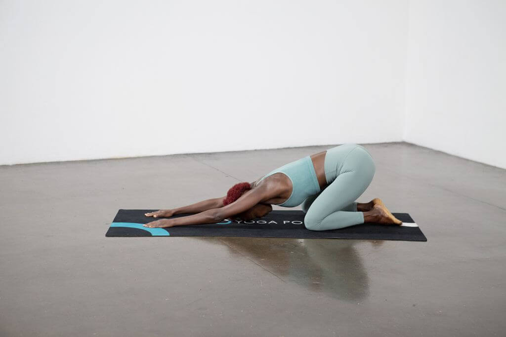 Child's Pose ( Balasana) - Yoga Pose
