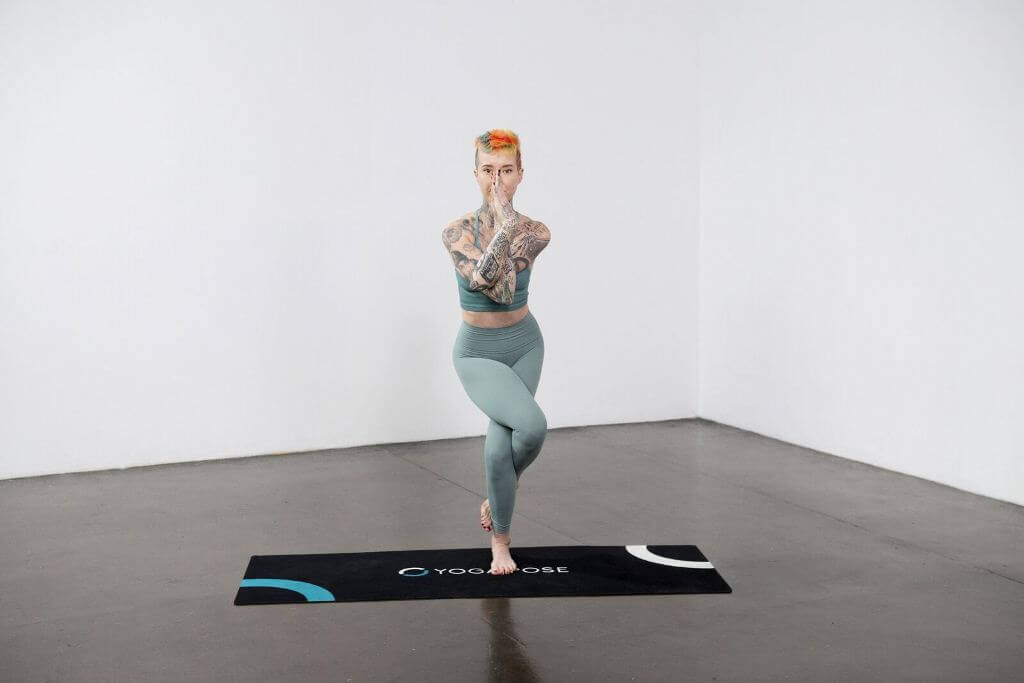 Eagle Pose (Garudasana) - Yoga Pose