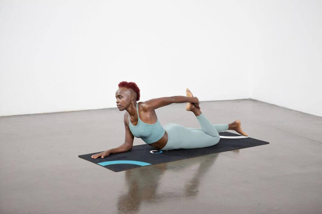 Half Bow Pose (Ardha Dhanurasana) - Yoga Pose