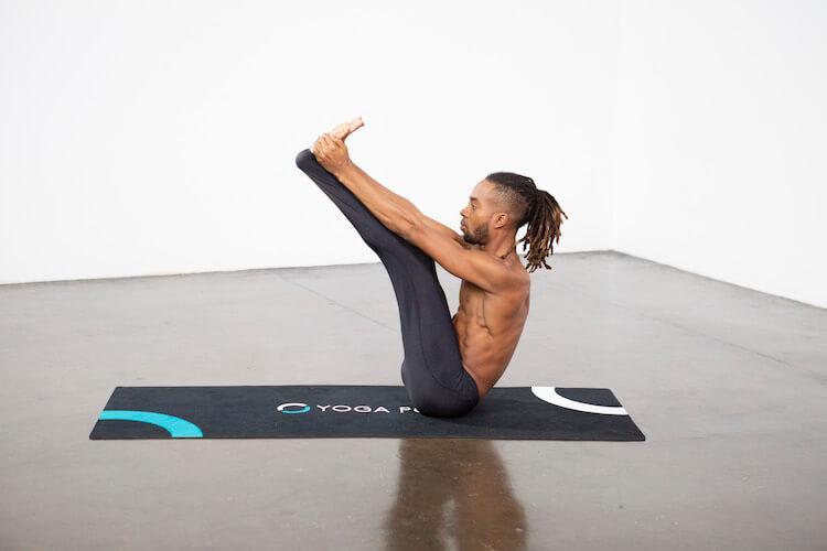 Upward Facing Forward Bend (Urdha Mukha Paschimottanasana) - Yoga Pose