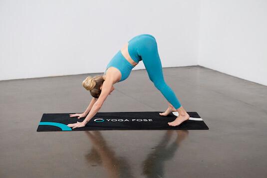 One-Legged Downward Dog (Eka Pada Adho Mukha Svanasana) - Yoga Pose