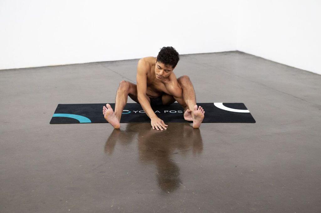 Tortoise Pose (Kurmasana) - Yoga Pose