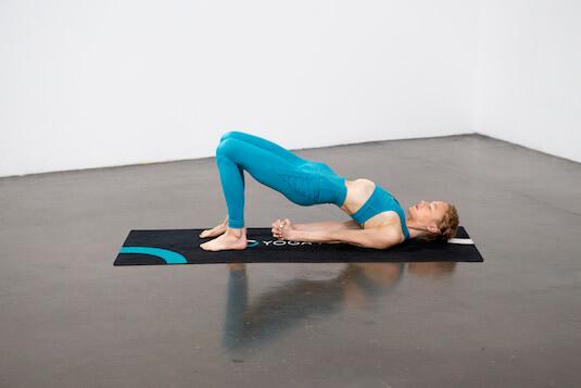 One-Legged Bridge Pose (Eka Pada Setubandha Sarvangasana) - Yoga Pose