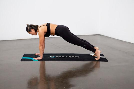 Plank Pose (Phalakasana) - Yoga Pose