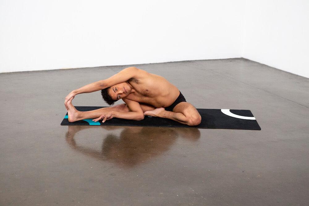 Revolved Head to Knee Pose (Parivrtta Janu Sirsasana) - Yoga Pose