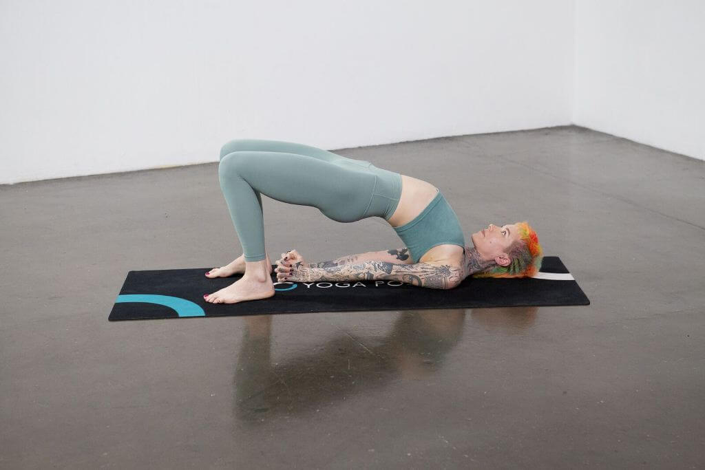 Bridge Pose (Setu Bandha Sarvangasana) - Yoga Pose