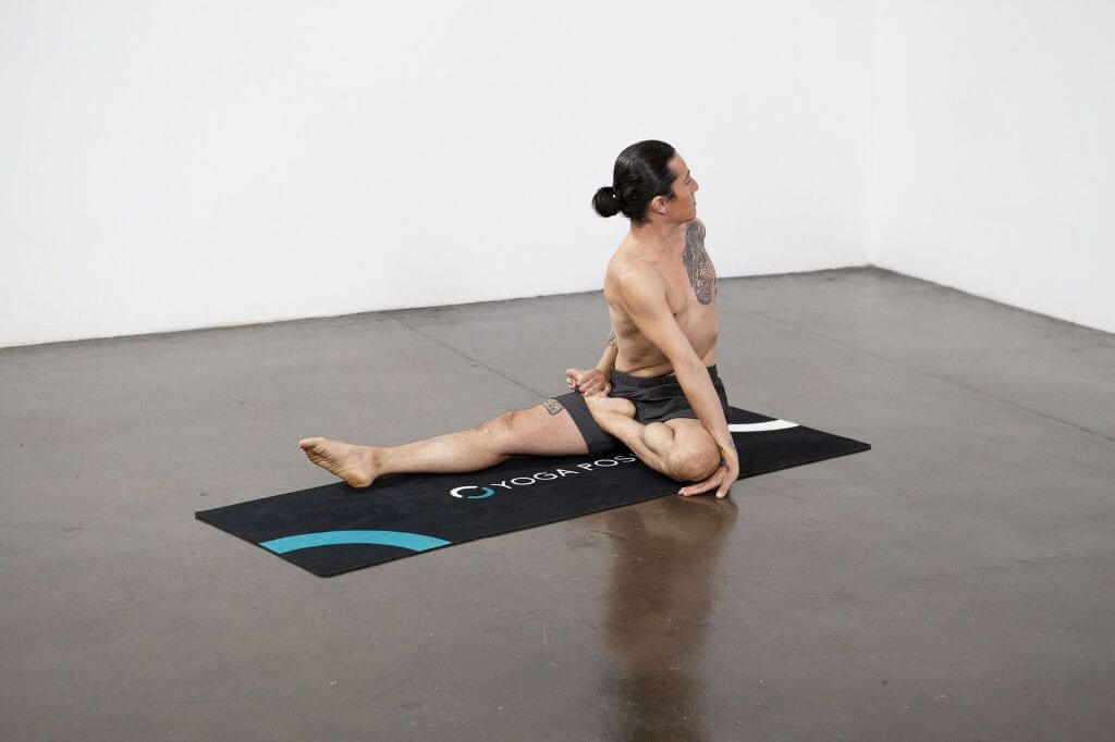 Lord of the Fishes Pose II (Ardha Matsyendrasana II) - Yoga Pose