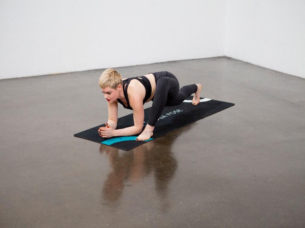 Lizard Pose (Utthan Pristhasana) - Yoga Pose