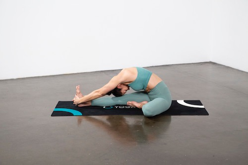 Seated Head to Knee Forward Bend