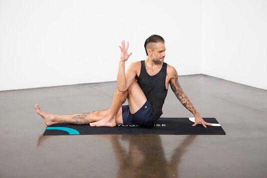 Marichi's Pose (Marichyasana) - Yoga Pose