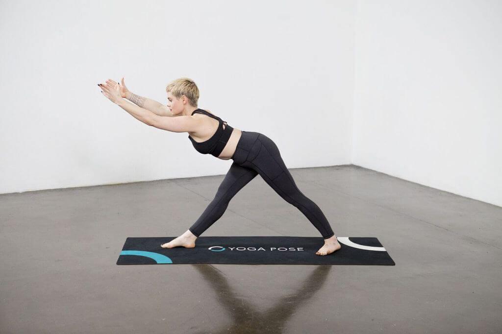 Intense Side Stretch Pose (Parsvottanasana) - Yoga Pose