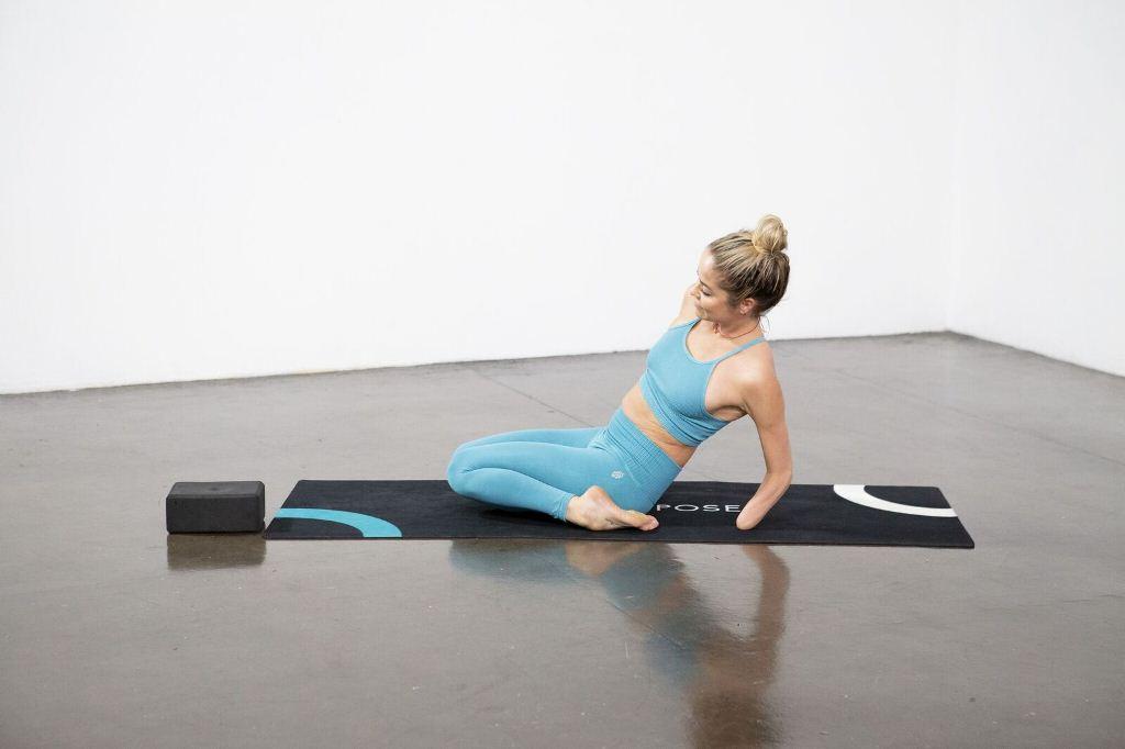 Reclining Hero Pose (Supta Virasana) - Yoga Pose
