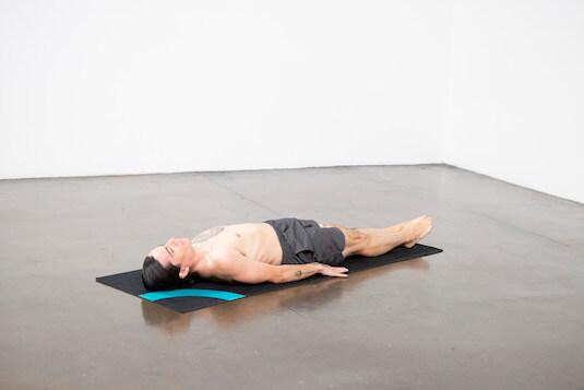 Lotus in Shoulder Stand Pose (Padma Sarvangasana) - Yoga Pose