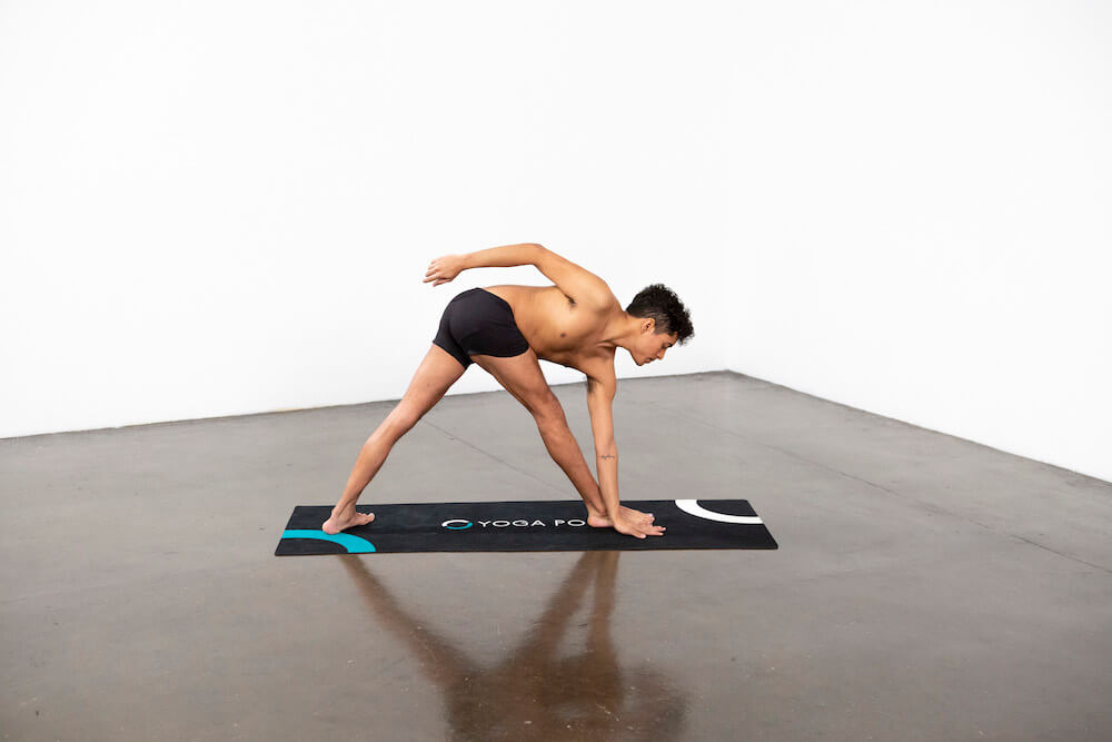Revolved Triangle Pose (Parivrtta Trikonasana) - Yoga Pose
