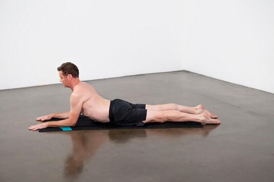 Sphinx Pose (Salamba Bhujangasana) - Yoga Pose