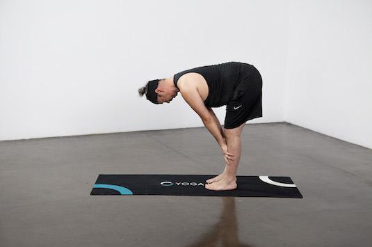 Standing Half Forward Bend (Ardha Uttanasana) - Yoga Pose