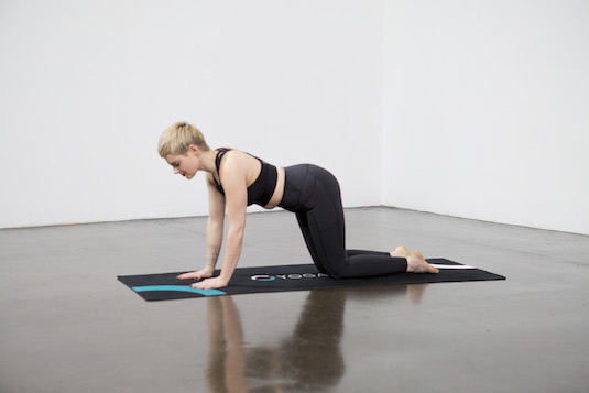 Thread the Needle Pose (Parsva Balasana) - Yoga Pose