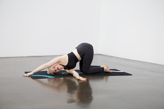 Thread the Needle Pose (Parsva Balasana) - Yoga Pose