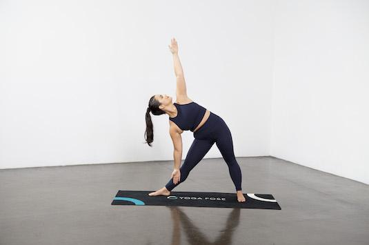 Triangle Pose (Utthita Trikonasana) - Yoga Pose