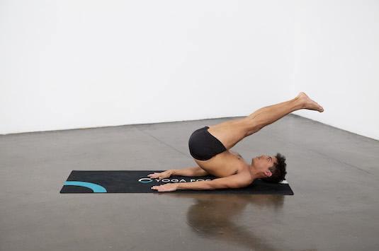 Unsupported Shoulder Stand Pose (Niralamba Sarvangasana) - Yoga Pose