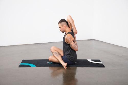 Binding Yoga Poses