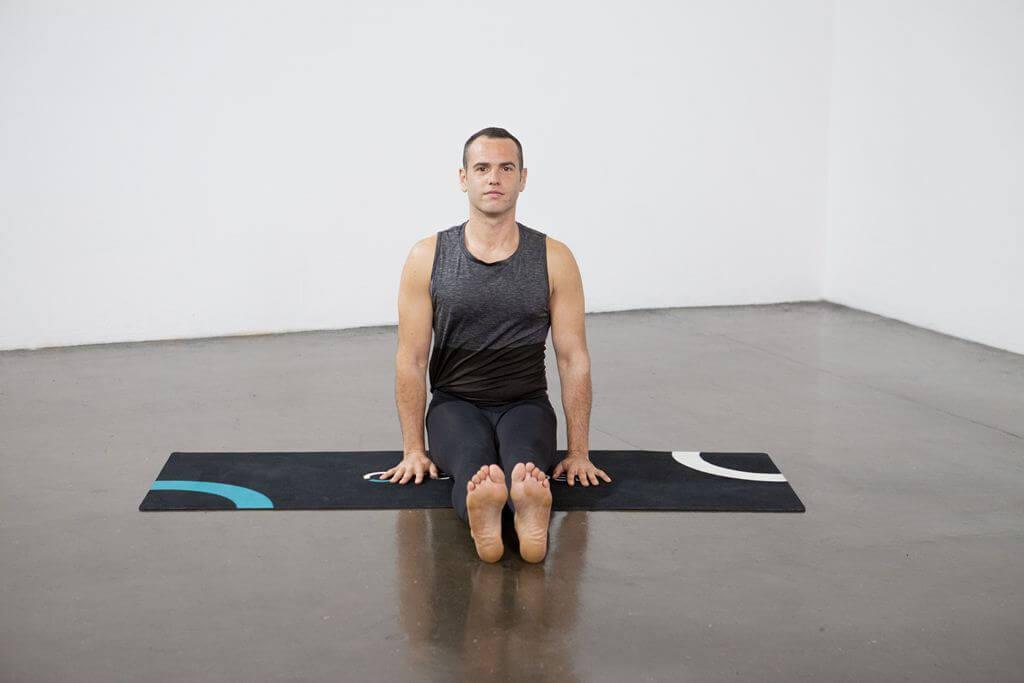 Fire Log Pose (Agnistambhasana) - Yoga Pose