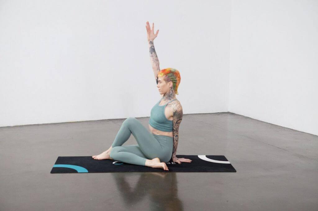 Lord of the Fishes Pose (Matsyendrasana) - Yoga Pose