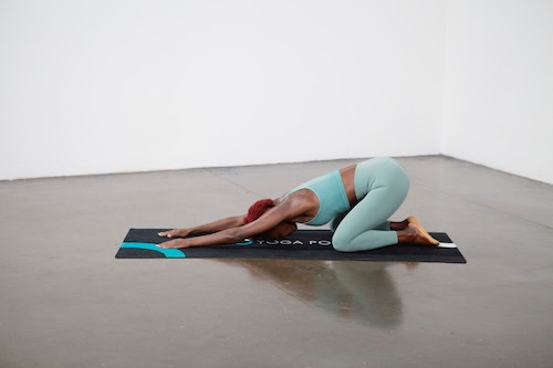 Child's Pose ( Balasana) - Yoga Pose