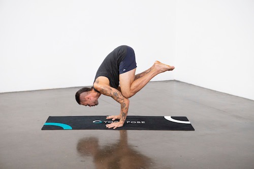 Crow Pose (Kakasana) - Yoga Pose