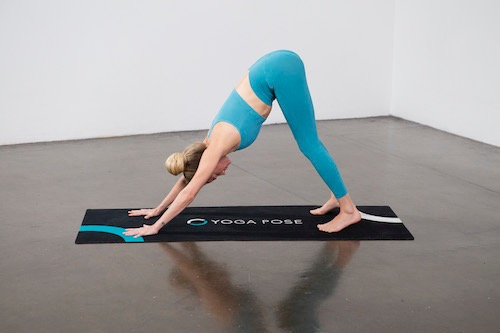 Downward Facing Dog (Adho Mukha Svanasana) - Yoga Pose