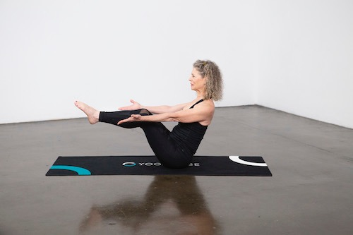 Full Boat Pose (Paripurna Navasana) - Yoga Pose