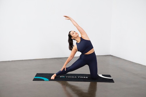 Gate Pose (Parighasana) - Yoga Pose