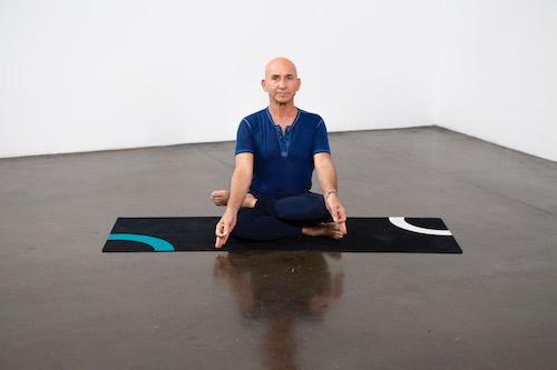 Half Lotus Pose (Ardha Padmasana) - Yoga Pose