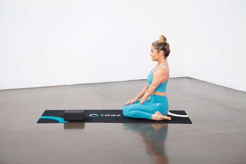 Thunderbolt Pose (Virasana) - Yoga Pose