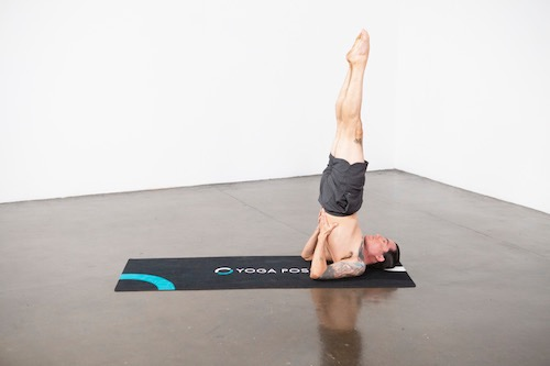 Supported Shoulderstand (Salamba Sarvangasana) - Yoga Pose