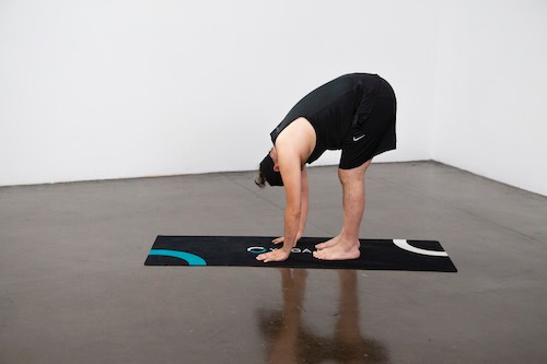 Standing Forward Bend (Uttanasana) - Yoga Pose