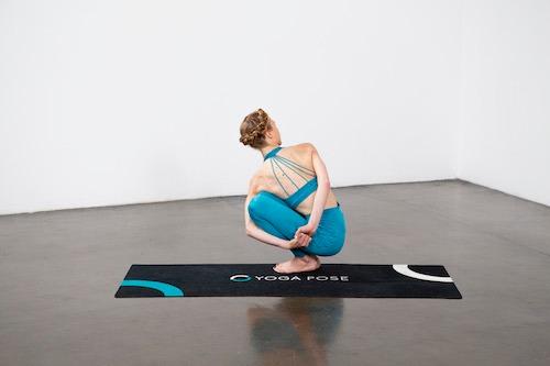Noose Pose (Pasasana) - Yoga Pose