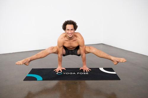 Firefly Pose (Tittibhasana) - Yoga Pose