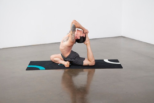 One-Legged King Pigeon Pose I (Eka Pada Rajakapotasana I) - Yoga Pose