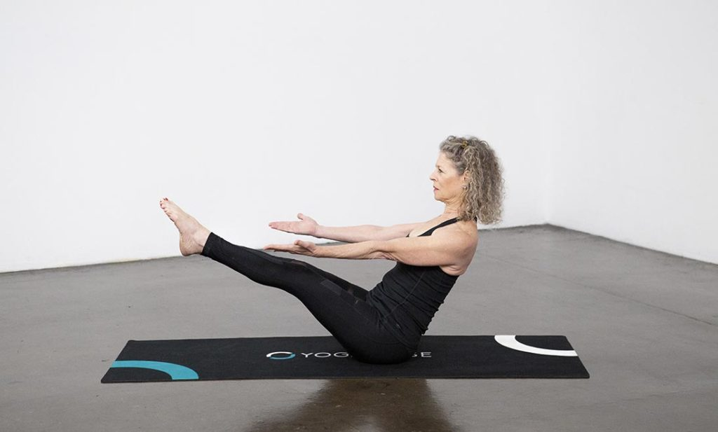 7 Intermediate Yoga Poses for Small Spaces