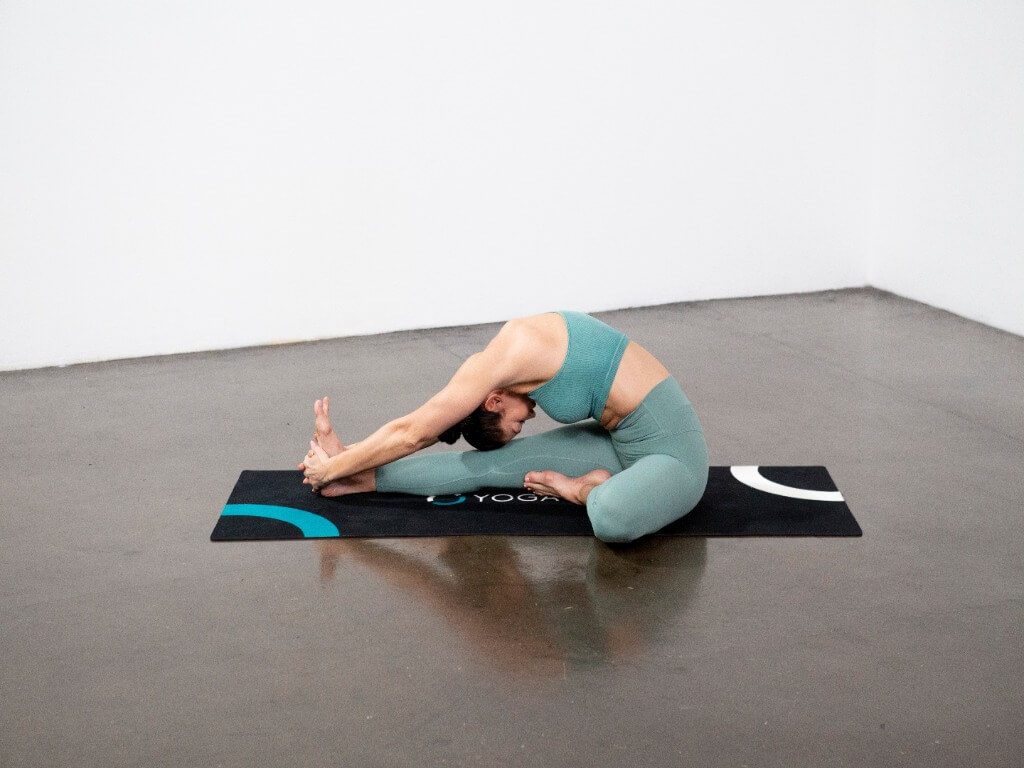 Head-to-Knee Forward Bend Pose (Janu Sirsasana) - Yoga Pose