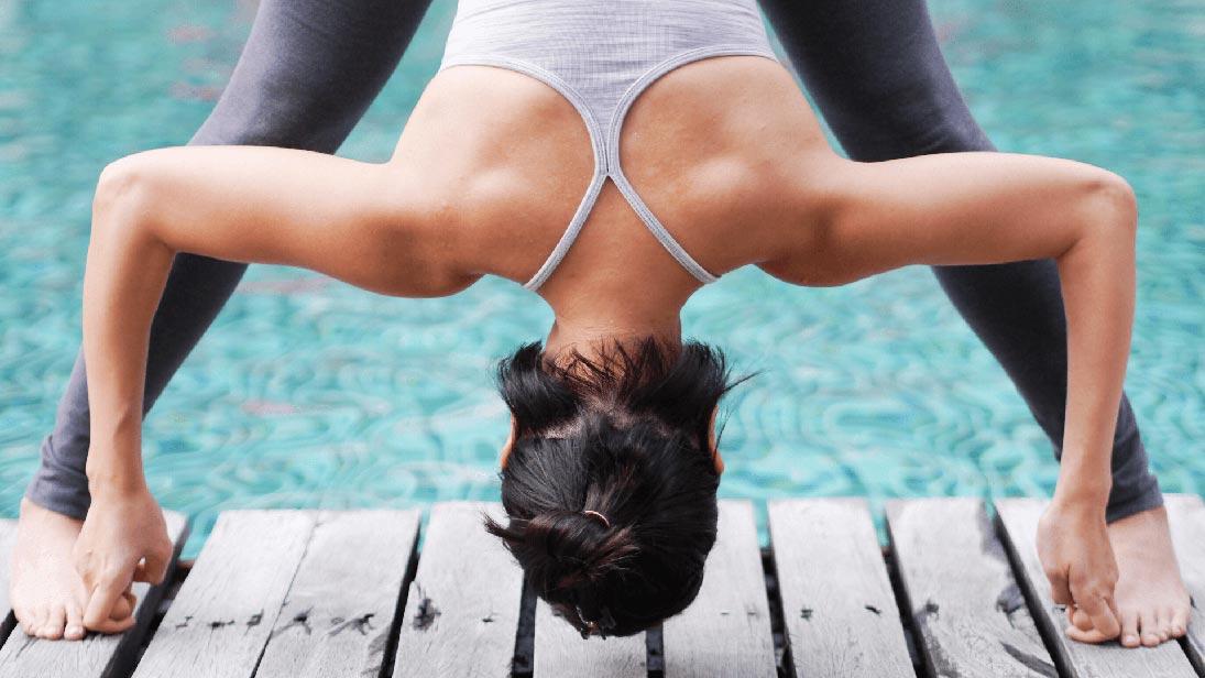 4 Forward Bend Yoga Poses for Better Sleep