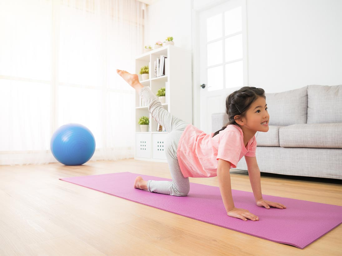 5 Wellness Resources & Ideas to Help Raise Diversity-Aware Kids - Yoga Pose